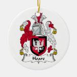 Escudo de la familia de Hoare Ornamentos De Reyes Magos