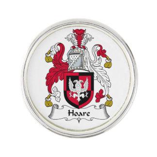Escudo de la familia de Hoare Insignia