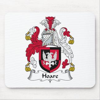 Escudo de la familia de Hoare Mouse Pads