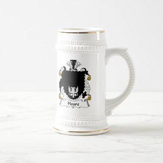Escudo de la familia de Hoare Taza De Café