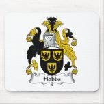 Escudo de la familia de Hobbs Tapete De Raton