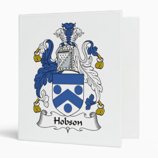 "Escudo de la familia de Hobson Carpeta 1"""