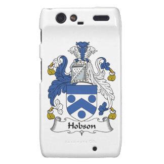 Escudo de la familia de Hobson Motorola Droid RAZR Fundas