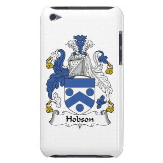 Escudo de la familia de Hobson Barely There iPod Fundas