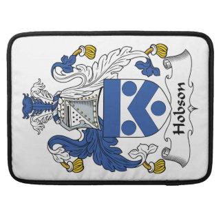 Escudo de la familia de Hobson Funda Macbook Pro