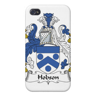 Escudo de la familia de Hobson iPhone 4 Funda