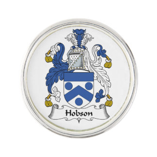 Escudo de la familia de Hobson Pin