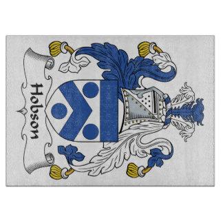 Escudo de la familia de Hobson Tabla De Cortar
