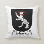 Escudo de la familia de Hochenberg Almohada