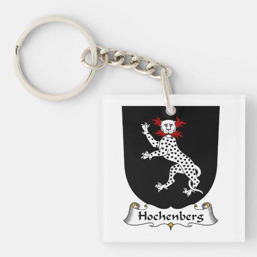 Escudo de la familia de Hochenberg Llaveros