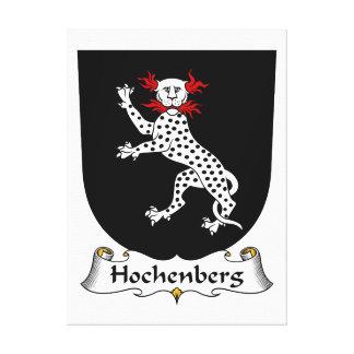 Escudo de la familia de Hochenberg Lona Estirada Galerías