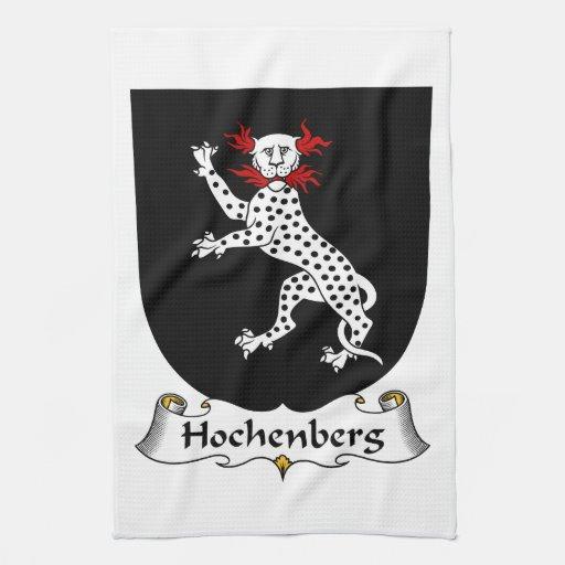 Escudo de la familia de Hochenberg Toallas