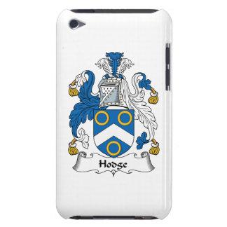 Escudo de la familia de Hodge Barely There iPod Cárcasas