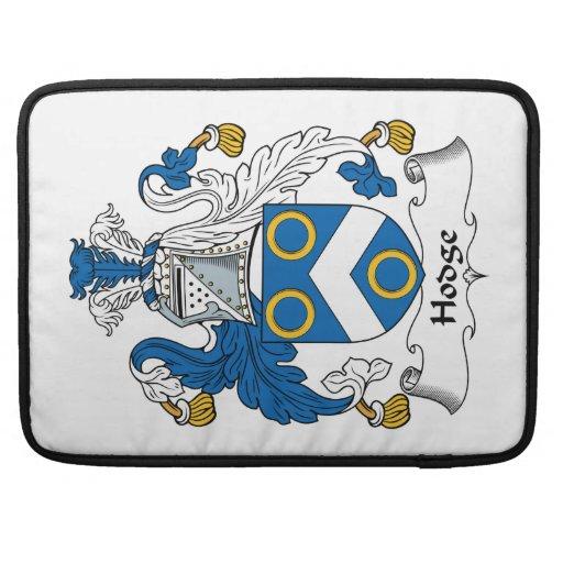 Escudo de la familia de Hodge Fundas Para Macbook Pro