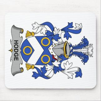 Escudo de la familia de Hodge Alfombrillas De Ratones