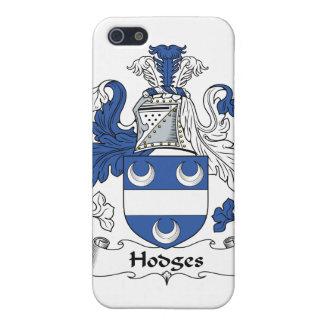 Escudo de la familia de Hodges iPhone 5 Funda