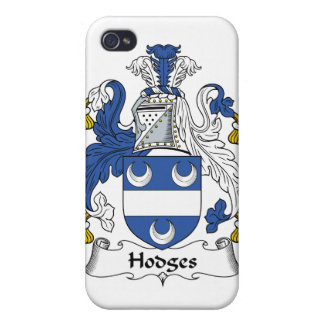 Escudo de la familia de Hodges iPhone 4/4S Funda
