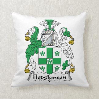 Escudo de la familia de Hodgkinson Cojín Decorativo