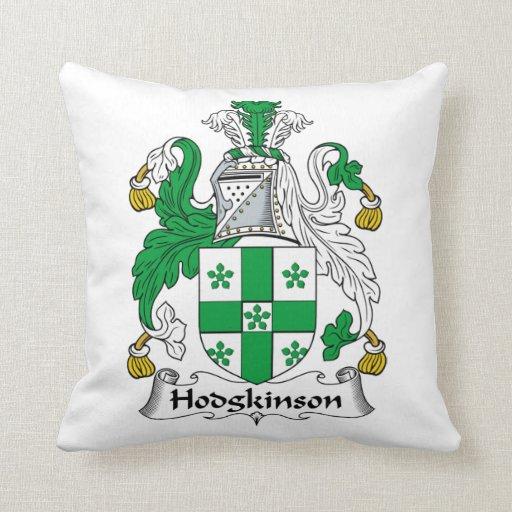 Escudo de la familia de Hodgkinson Cojines
