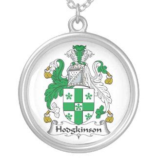 Escudo de la familia de Hodgkinson Colgante Redondo