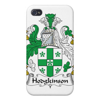 Escudo de la familia de Hodgkinson iPhone 4/4S Fundas