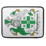 Escudo de la familia de Hodgkinson Fundas Para Macbooks