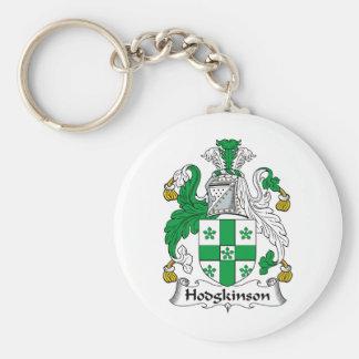 Escudo de la familia de Hodgkinson Llavero Redondo Tipo Pin