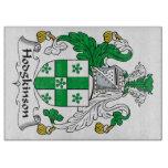Escudo de la familia de Hodgkinson Tablas Para Cortar