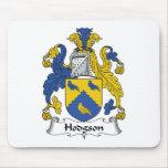 Escudo de la familia de Hodgson Alfombrilla De Ratón