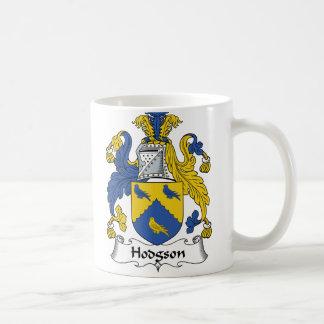 Escudo de la familia de Hodgson Taza