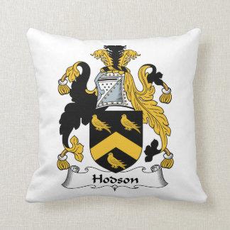 Escudo de la familia de Hodson Cojines