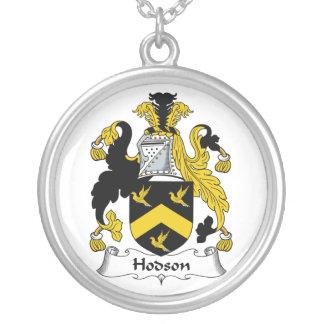 Escudo de la familia de Hodson Colgante Redondo