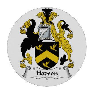 Escudo de la familia de Hodson Juego De Fichas De Póquer