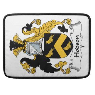 Escudo de la familia de Hodson Funda Para Macbooks