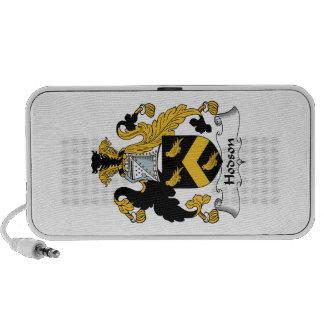 Escudo de la familia de Hodson iPod Altavoz