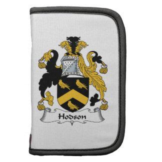 Escudo de la familia de Hodson Organizador