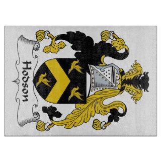 Escudo de la familia de Hodson Tabla Para Cortar