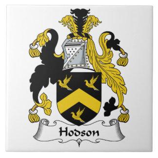Escudo de la familia de Hodson Teja Ceramica