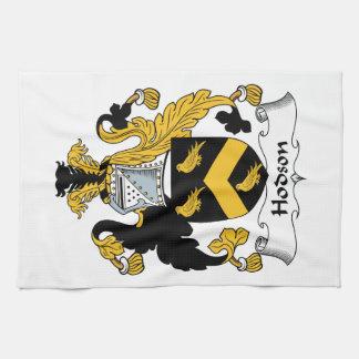 Escudo de la familia de Hodson Toalla