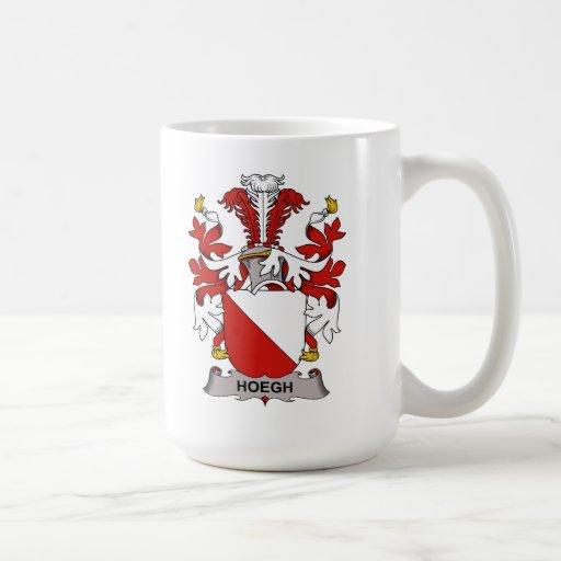 Escudo de la familia de Hoegh Taza De Café
