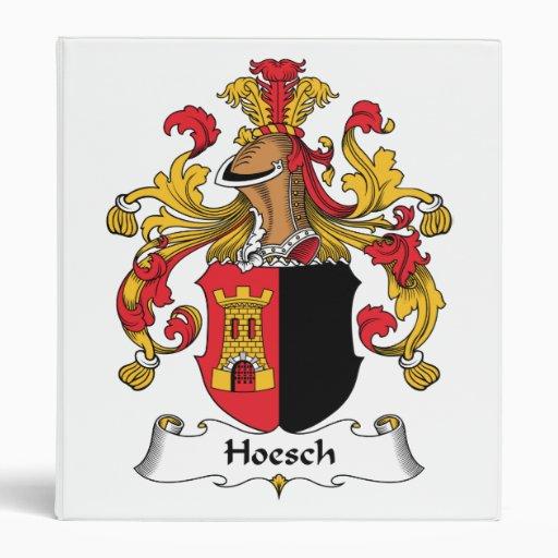 Escudo de la familia de Hoesch