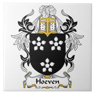 Escudo de la familia de Hoeven Teja