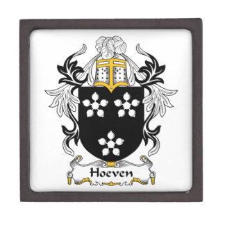 Escudo de la familia de Hoeven Cajas De Joyas De Calidad