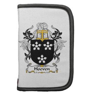 Escudo de la familia de Hoeven Planificadores