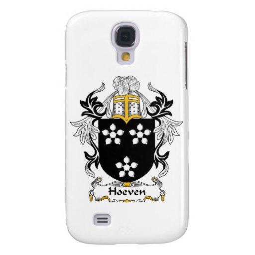 Escudo de la familia de Hoeven Funda Para Galaxy S4