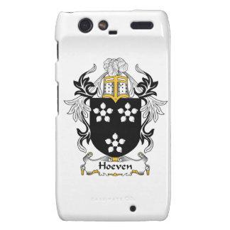Escudo de la familia de Hoeven Motorola Droid RAZR Funda