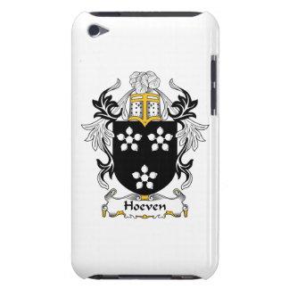 Escudo de la familia de Hoeven iPod Touch Cárcasa