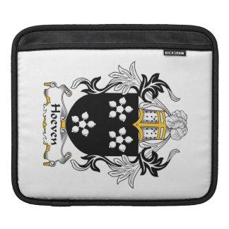 Escudo de la familia de Hoeven Mangas De iPad
