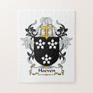 Escudo de la familia de Hoeven Rompecabezas Con Fotos