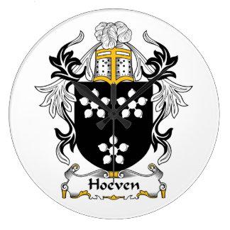 Escudo de la familia de Hoeven Relojes